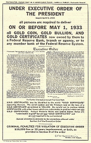 FDR Executive Order