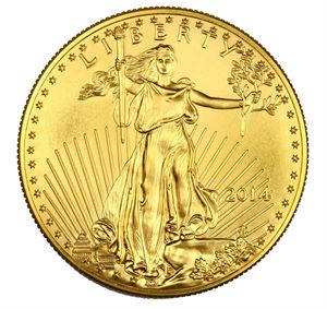 Picture of 1/10  oz Gold Eagle