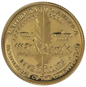 Picture of  $5 Gold Commemorative