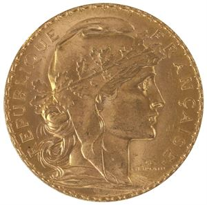 Picture of Gold French 20 Franc