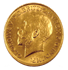 Picture of Gold British Sovereign
