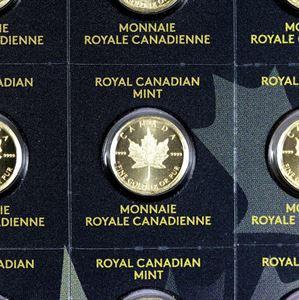Picture of 25 Gram Gold MapleGram