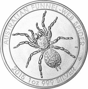 Picture of 1 oz Silver Australian Spider