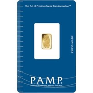 Picture of 1 Gram Gold PAMP Bar