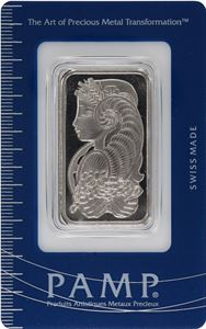 Picture of  1 oz Palladium PAMP Bar
