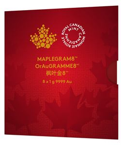 Picture of 8 Gram Gold MapleGram