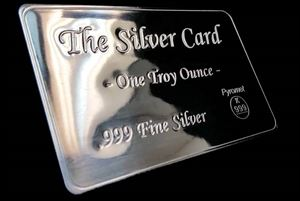Picture of 1 Oz Pyromet Silver Card