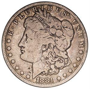 Picture of Culls-Morgan US Silver Dollar