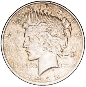 Picture of US Silver Dollar Peace - Circ