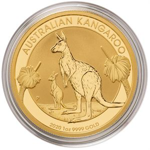 Picture of 1 oz. Gold Australian Kangaroo