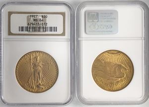 Picture of US Gold St. Gaudens MS64 NGC