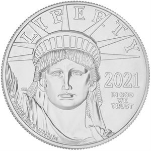 Picture of  1 oz Platinum Eagle